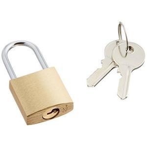 エレコム セキュリティロック 南京錠 幅25奥行11高さ51mm 真鍮 鍵2本付 ESL-NK|eshop-smart-market