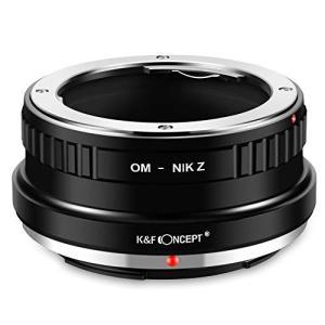 K&F Concept マウントアダプター OM-NIK Z Olympus レンズ-Nikon Z...