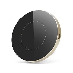 【急速ワイヤレス充電q】10w急速充電、7.5wより充電時間は大幅に短縮!Qi対応機器またはQi対応...