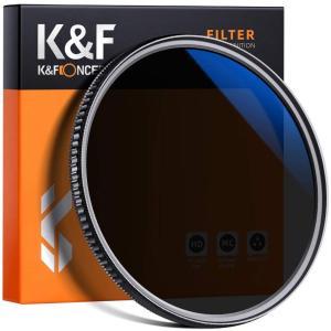 K&F Concept ND8+CPLフィルター 77mm ND8と偏光フィルター両用機能 2in1 eshop-smart-market