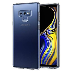 Spigen Galaxy Note9 ケース TPU 薄型 シンプル 軽量 ワイヤレス充電対応 リ...