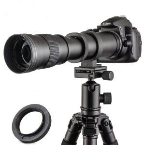 JINTU 420-800mm 望遠ズームレンズF/8.3-F16 キヤノン用 デジタル一眼レフカメラ対応 eshop-smart-market