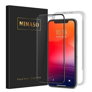 Nimaso iPhone 11 Pro Max ガラスフィルム/iPhone XS Max ガラス...