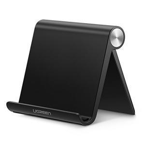 UGREEN タブレットスタンド スマホホルダー iPadスタンド 折りたたみ式 角度調整可能 4-...