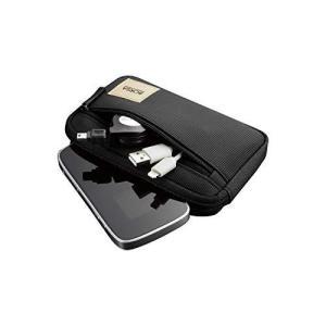 エレコム ポーチ バッグインバッグ アクセサリ/ガジェット収納 スリムタイプ Sサイズ ブラック BMA-GP01BK|eshop-smart-market