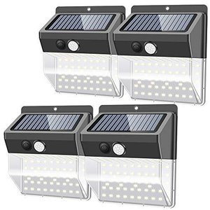 Lifeholder 118LED センサーライト ソーラーライト 屋外 人感センサー付き 太陽光発電 夜間自動点灯 IP65防水 玄関先/|eshop-smart-market