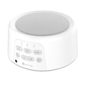 Dreamegg バッテリー内蔵 ホワイトノイズ マシン 快眠 24種癒しサウンド USB充電 イヤホン対応|eshop-smart-market