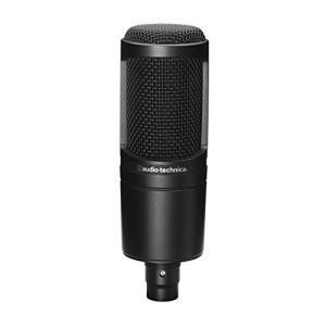 audio-technica コンデンサーマイクロホン AT2020 動画配信・宅録・ポッドキャスト・実況・DTM ブラック|eshop-smart-market