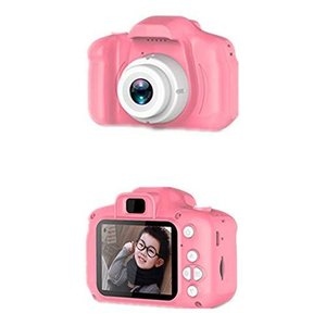JITIAN X2子供のカメラ ミニ一眼レフ カムコーダー デジタルおもちゃ カメラ カメラ HD 漫画 デュアル カメラ 2.0|eshop-smart-market
