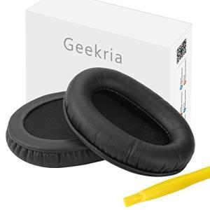 Geekria イヤーパッド Sennheiser HD415, HD435, HD465, HD485, ATH-PR05, ATH-T22, ATH-T44, ATH-T3等対応交換用 ヘッドホンパッド eshop-smart-market