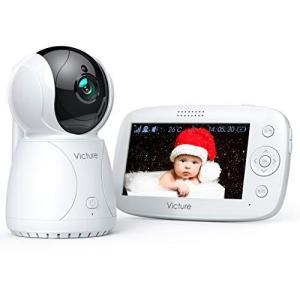 Victure BM45 ベビーモニター 見守りカメラ 遠隔監視 PTZ リモコン 双方向 音声通信 暗視機能付き ベビーカメラ|eshop-smart-market