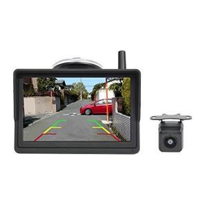 PARKVISION デジタルワイヤレスバックカメラ&5インチIPS液晶モニターセット 無線バックカメラセット eshop-smart-market