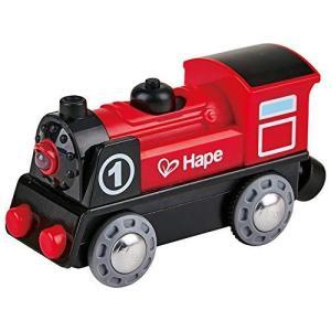 Hape(ハペ) 電池ではしる!ひかる蒸気きかんしゃ E3703|eshop-smart-market