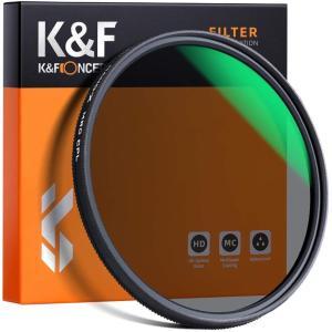 K&F Concept cplフィルター 82mm レンズフィルター 撥水 防汚 耐油性 反射除去 nano-x 偏光フィルター eshop-smart-market
