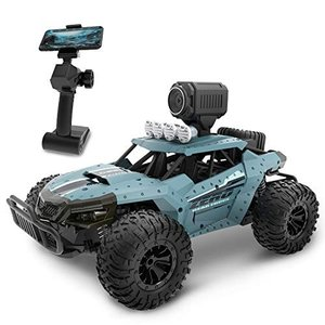 DEERC ラジコンカー 子供向け オフロード RCカー カメラ付き 1/16 操作時間30分 時速20km/h 防振性抜群 DE36W|eshop-smart-market