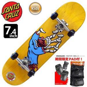 ジュニア キッズ スケートボード コンプリート スケボー サンタクルーズ SANTA CRUZ HYBRID HAND MINI 7.4インチ SCC-003 子供用 完成品 eshop