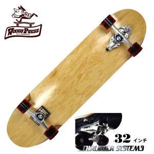 WOODY PRESS ウッディプレス サーフスケート スラスター3 コンプリート 32インチ NATURAL WPC-010 ロングスケボー|eshop