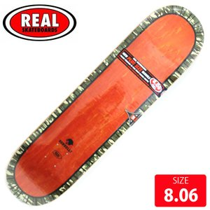 REAL リアル デッキ JAKE DONNELLY  PERIMETTER EMB DECK 8....