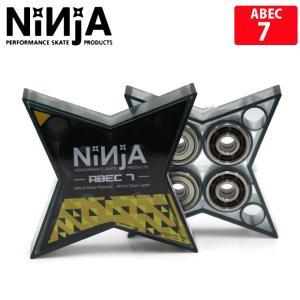 メール便対応 NINJA ニンジャ STAR ABEC 7 OIL bearing ベアリング スケボー デッキ 人気 スケートボード skate sk8|eshop