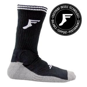 FP INSOLES スケートソックス FP-PAINKILLER SHIN SOCKS BANBOO CHARCOAL FPインソール|eshop