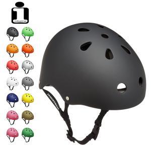 INDUSTRIAL インダストリアル ヘルメット FLAT BLK スケボー スケートボード インライン用 プロテクター|eshop