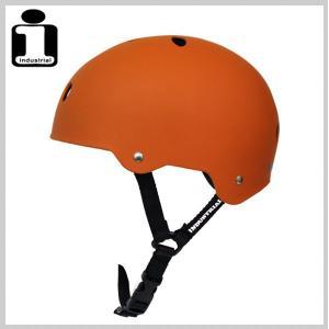 INDUSTRIAL インダストリアル ヘルメット BURNT ORANGE スケボー スケートボード インライン用 プロテクター|eshop