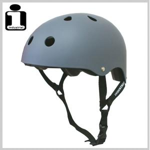 INDUSTRIAL インダストリアル ヘルメット FLATGRAY スケボー スケートボード インライン用 プロテクター|eshop