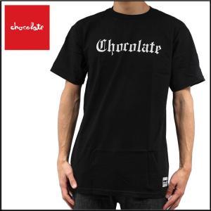 CHOCOLATE チョコレート EAZY  TEE/BLACK スケーターTシャツ eshop