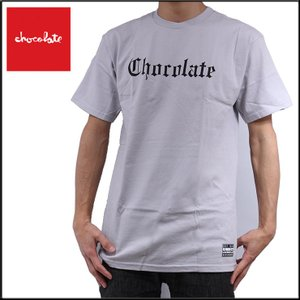 CHOCOLATE チョコレート EAZY  TEE/SILVER スケーターTシャツ eshop