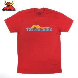 TOY MACHINE トイマシンーン STABBED CARDINAL TEE スケーターTシャツ|eshop