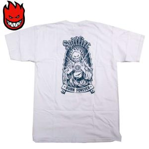 SPITFIRE スピットファイヤー スケート Tシャツ VIRGIN BIG HEAD WHT/Mサイズ SKATE TEE スケーター eshop