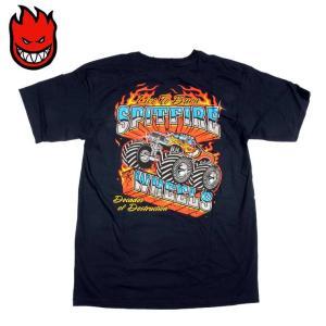 SPITFIRE スピットファイヤー スケート Tシャツ MONSTER NVY/Mサイズ SKATE TEE スケーター eshop