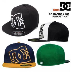 DC SHOE ディーシーシュー ジュニア キャップ  YA HEARD 2-KD FLEXFIT HAT|eshop