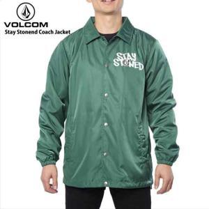 volcom ボルコム ウィンドブレーカー メンズ Stay Stonend Coach Jacket OLVトップス ジャケット ジャンパー|eshop
