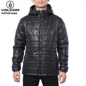 volcom ボルコム アウター メンズ Puff Puff Jacket BLK トップス ジャケット ジャンパー|eshop