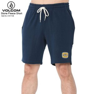 VOLCOM ボルコム メンズ ハーフパンツ Stone Fleece Short  NVY ストーン フリース ショート 新作|eshop