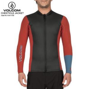 VOLCOM ボルコム メンズ ウェットスーツ CHESTICLE JACKET DCL タッパー 水着 新作|eshop