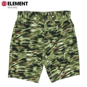 ELEMENT エレメント メンズ  ハーフパンツ AF021602 BRN ウォークショーツ ストレッチ 短パン|eshop