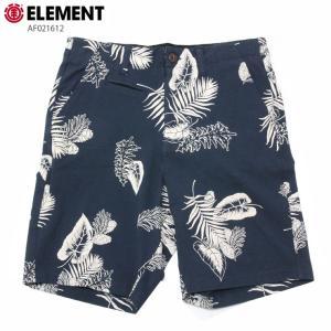 ELEMENT エレメント メンズ  ハーフパンツ AF021612 NVY ウォークショーツ ストレッチ 短パン|eshop