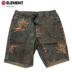 ELEMENT エレメント メンズ  ハーフパンツ CONROY SHORT 20 AF021620 BLK ウォークショーツ 短パン|eshop