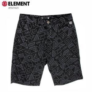 ELEMENT エレメント メンズ  ハーフパンツ CONROY SHORT 20 AF021623 BLK ウォークショーツ 短パン|eshop
