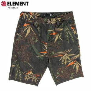 ELEMENT エレメント メンズ  ハーフパンツ AF021623 BLK ウォークショーツ 短パン|eshop