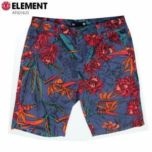 ELEMENT エレメント メンズ  ハーフパンツ AF021623 NVY ウォークショーツ 短パン|eshop