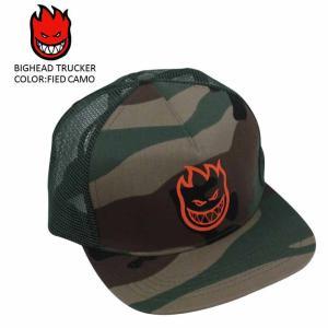 SPITFIRE スピットファイア スピットファイヤー スケート CAP キャップ 帽子 BIGHEAD TRUCKER SKATE スケーター キッズ ユース|eshop