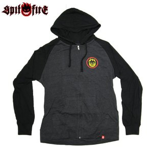 SPITFIRE スピットファイヤー HOOD CLASSIC SWIRL FADE G.METAL/BLK フード スウェット eshop