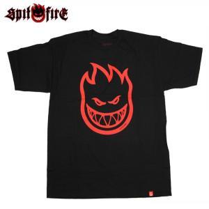 SPITFIRE スピットファイヤー Tシャツ BIGHEAD S/S TEE BLACK スケボー ウェアー SKATEBOARD eshop