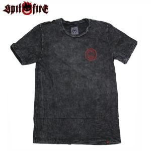 SPITFIRE スピットファイヤー Tシャツ CLASSIC SWIRL S/S TEE BLK M.WASH スケボー ウェアー SKATEBOARD eshop