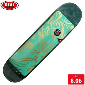 REAL リアル デッキ CHIMA FLORAL DECK 8.06 スケートボード スケボー