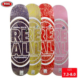 REAL リアル デッキ OVAL FLORAL PRICEPOINT DECK 7.38-8.06...