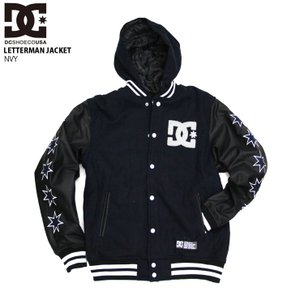 DC SHOE ディーシー メンズ ジャケット LETTERMAN JACKET NVY 5410J...